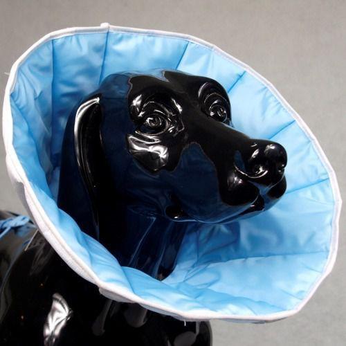 kołnierz pozabiegowy z tkaniny dla średniego psa 5 marki Grande finale