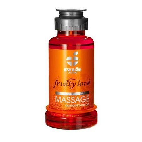 Balsam owocowy do masażu - Swede Fruity Love Massage morela i pomarańcza 100ml