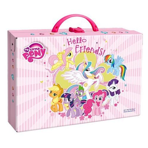 Starpak Kuferek kartonowy My Little Pony - (224779) Darmowy odbiór w 20 miastach! z kategorii Tornistry i plecaki