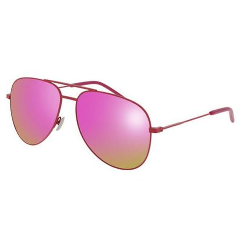 Okulary Słoneczne Saint Laurent CLASSIC 11 RAINBOW 009, kolor żółty