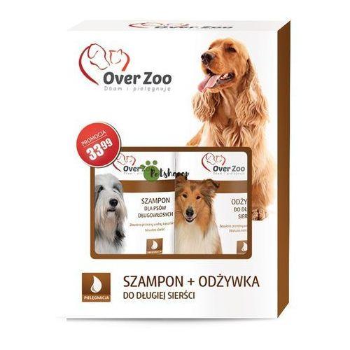 świąteczny dwupak szampon + odżywka dla psów długowłosych + sznurek! marki Over zoo