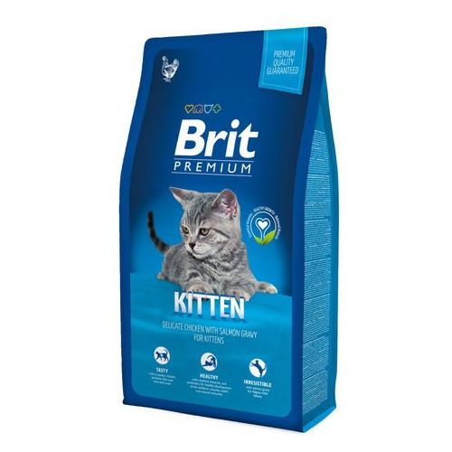 premium cat new kitten 8kg marki Brit