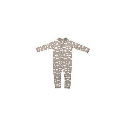 Rampers pajac niemowlęcy - szare chmurki marki Dolce sonno