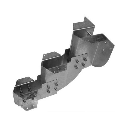 Wspornik pojedynczy do konstrukcji schodów zewnętrznych GARDENSTEP 3 stopnie DOLLE (4002605498721)