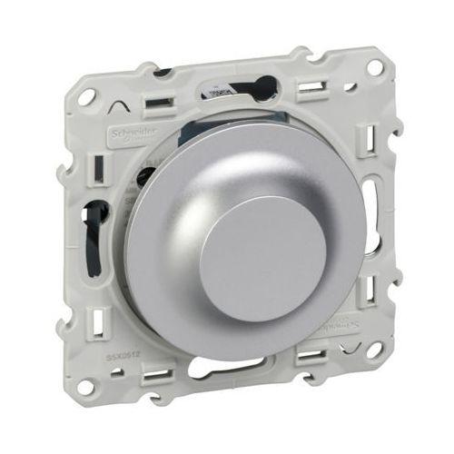 Schneider Ściemniacz uniwersalny led 400va odace s530512 aluminium (3606480686139)