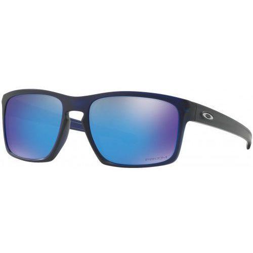 Okulary Oakley Sliver Matte Translucent Blue Prizm Sapphire Iridium OO9262-4557