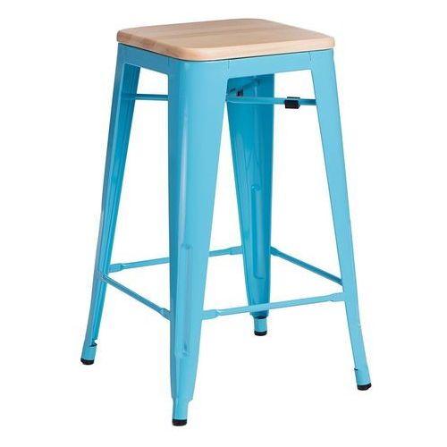 D2design Hoker paris wood 75cm niebieski jesion (5902385711203)