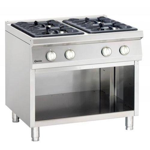 Bartscher Kuchnia gazowa 4 palnikowa | 23000w. Najniższe ceny, najlepsze promocje w sklepach, opinie.