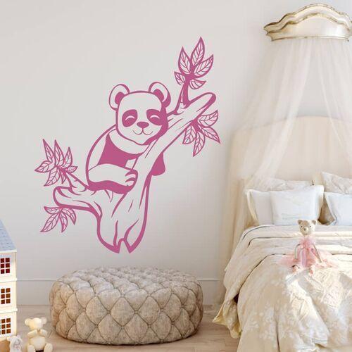 Wally - piękno dekoracji Szablon do malowania dla dzieci niedźwiadek panda 2401