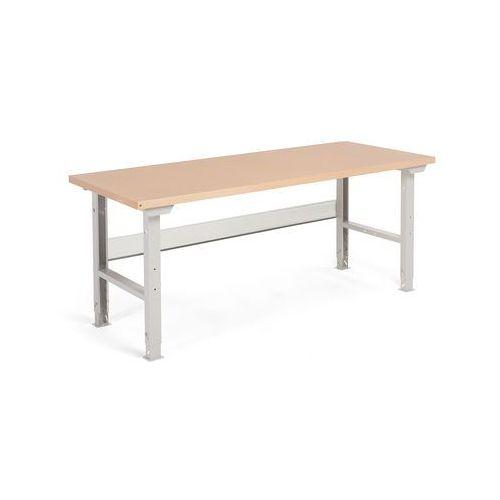 Stół warsztatowy ROBUST, 2000x800 mm, utwardzana płyta, 22136