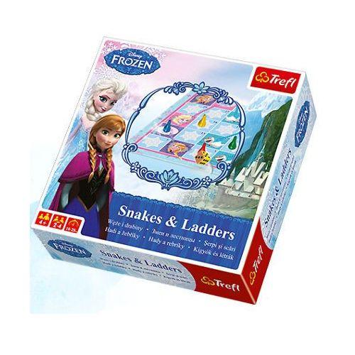 Gra TREFL Węże i Drabiny Frozen