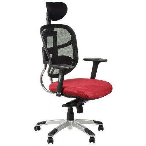 Fotel biurowy gabinetowy hn-5018/bordo krzesło biurowe obrotowe marki Stema - hn