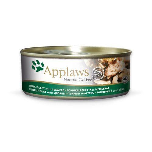 APPLAWS Natural Cat Food Tuńczyk i Wodorosty 156g - 156, KAPP048