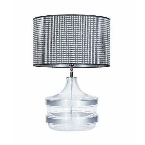 4concepts 4 concepts baden baden silver l224281338 lampa stołowa lampka 1x60w e27 czarny