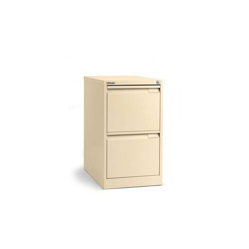 Szafka na kartotekę wiszącą, 1-torowa,2 szuflady, DIN A4