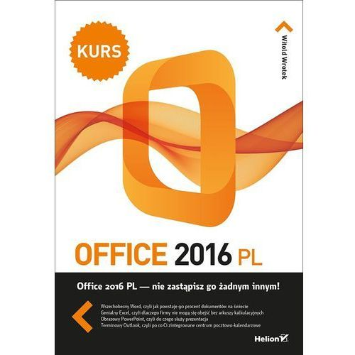 Office 2016 PL. Kurs (9788328322547)