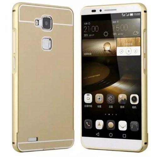 Obudowa Bumper Metal Huawei Honor 7 Złoty - Złoty