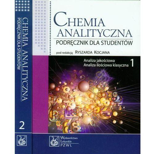 Chemia analityczna Tom 1-2 Analiza jakościowa, Analiza ilościowa klasyczna, Analiza instrumentalna, oprawa miękka