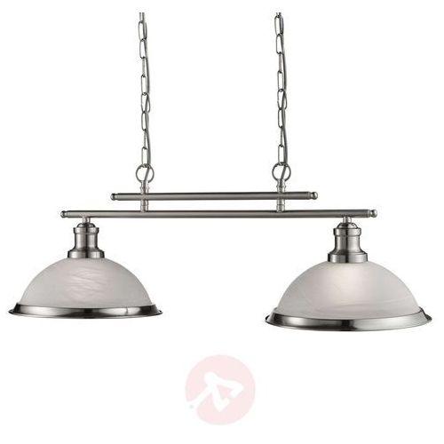 Wytworna 2-pkt. lampa wisząca bistro antyczny styl marki Searchlight