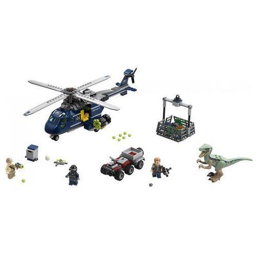 75928 POŚCIG ZA ŚMIGŁOWCEM (Blue's Helicopter Pursuit) - KLOCKI LEGO JURASSIC WORLD