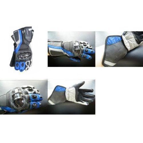 Rękawice motocyklowe buse racing niebieskie marki Büse