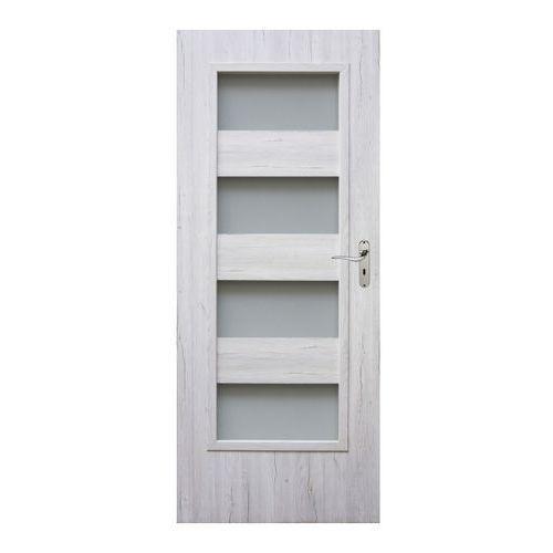 Drzwi pokojowe Winfloor Kastel 80 lewe silver