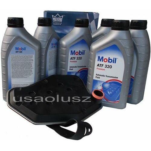 Filtr oraz olej skrzyni biegów atf320 ford f150 f250 f350 marki Mobil