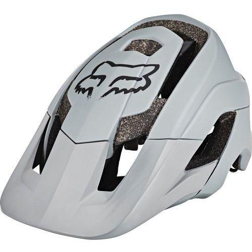 Fox Metah Solids Kask rowerowy Mężczyźni szary XS/S | 52-56cm 2018 Kaski rowerowe