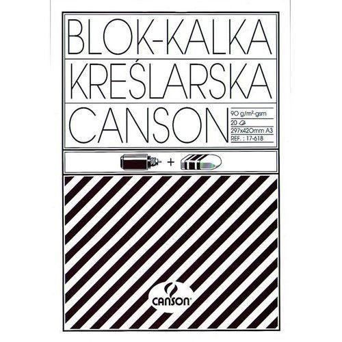 Kalka techniczna Canson A3/10ark. 90g 6666-178 (5906485190814)