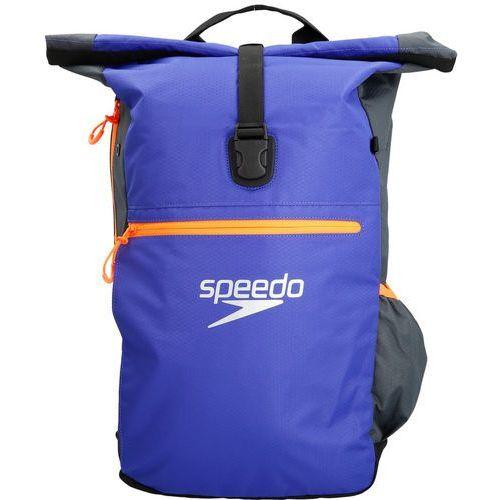 Speedo team iii plecak pływacki 30l szary/niebieski 2018 akcesoria do pływania