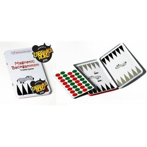 Gra magnetyczna The Purple Cow - Backgammon (Tryktrak)