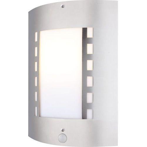 Kinkiet lampa oprawa zewnętrzna Globo Orlando z czujnikiem ruchu 1x60W E27 stalowy 3156S, 3156S