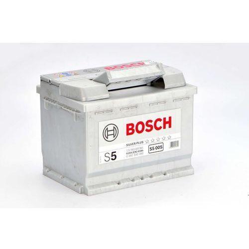 BOSCH S5 (12V 63Ah 610A) [polaryzacja P+]