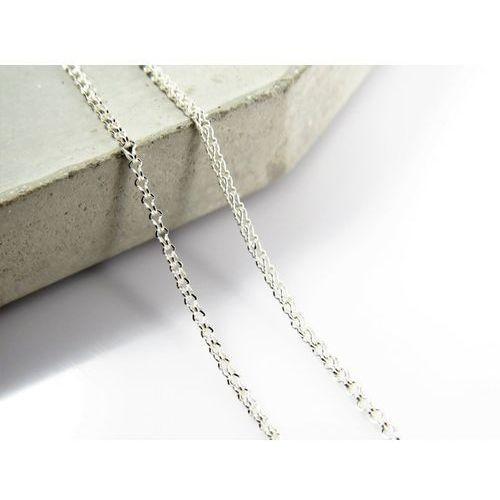 Srebrny (925) łańcuszek lisi ogon 40 cm marki Megasilver