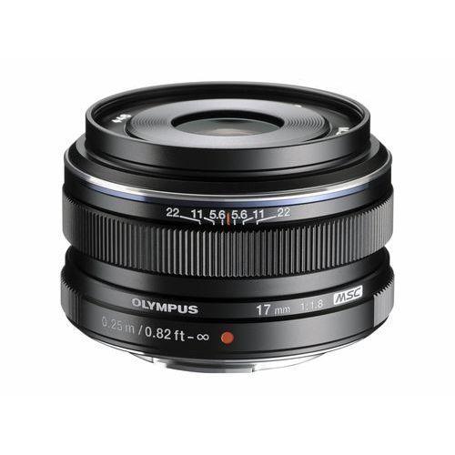 Olympus m.zuiko digital 17 mm f/1.8 czarny (4545350044152)