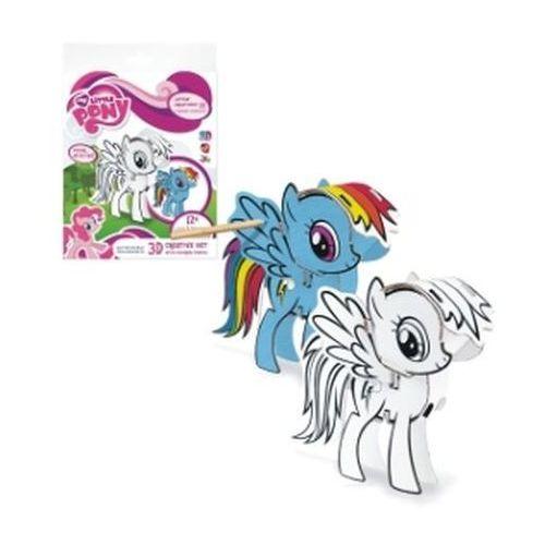 Zestaw kreatywny 3D My Little Pony z kredkami ołówkowymi