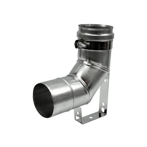 Spiroflex Kolanko spustowe nierdzewne 90° 80 mm (5901171233301)