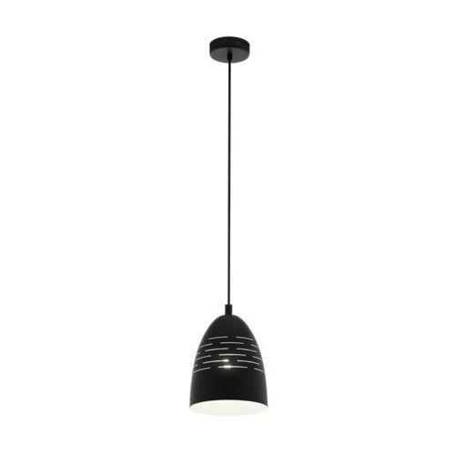 Eglo Camastra 98073 lampa wisząca zwis oprawa 1x40W E27 czarna/ biała, 98073