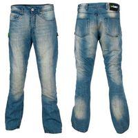 Męskie jeansy motocyklowe W-TEC Airweigt, Jasno-niebieski, 36/M, jeansy