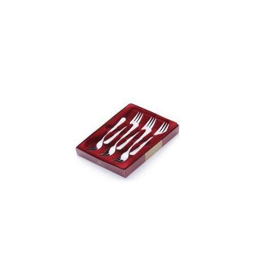 Zestaw widelczyków GERLACH Celestia do ciasta wysoki połysk (6 elementów) (5901035038219)