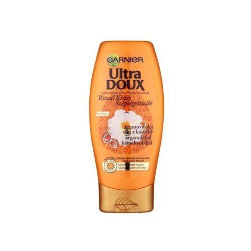 ultra doux odżywczy balsam dla skóry suchej i szorstkiej sierści (with argan oil and camellia) 200 ml, marki Garnier