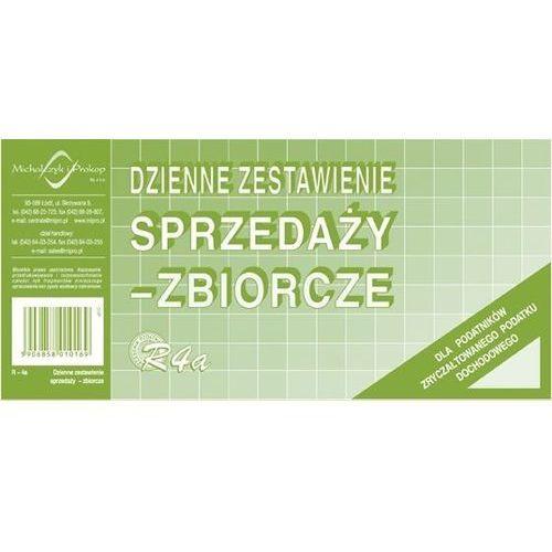 Dzienne zestawienie sprzedaży, zbiorcze, Offset 1/3 A4 Michalczyk i Prokop - G1246, NB-1163