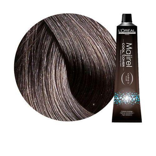 Loreal Majirel Cool Cover | Trwała farba do włosów o chłodnych odcieniach - kolor 6.11 ciemny blond popielaty głęboki 50ml, kolor blond