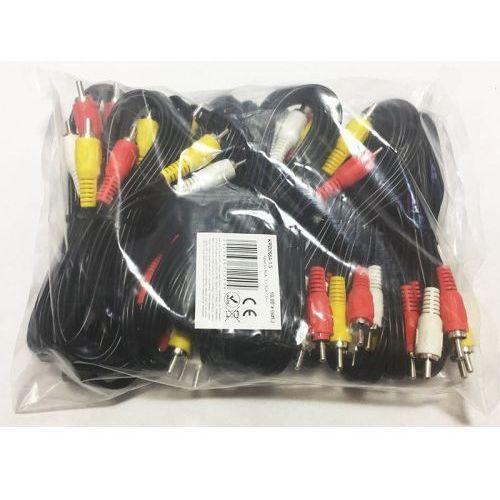 Kabel 3xRCA - 3xRCA 1,5m Cinch-Cinch KPO2664-1.5 (5901436712404)