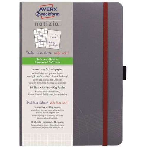 Notatnik Avery Zweckform Notizio Standard 7019 A5/80k. kratka (4004182470190)