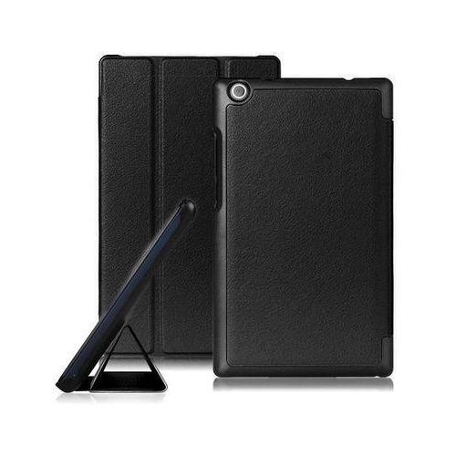Etui smart cover Lenovo Tab 2 A8-50F/L / Tab 3 8.0 czarne - Czarny, kolor czarny