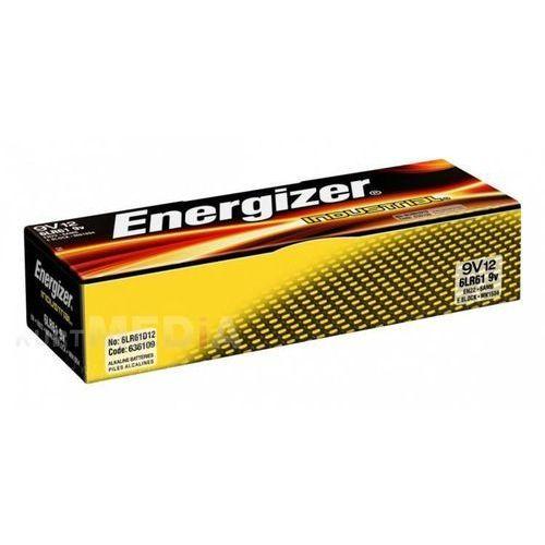 Energizer 12 x bateria alkaliczna  industrial 6lr61 9v (7638900361094)