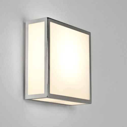Astro Mashiko 200 square ceiling light chrome (5038856008906)