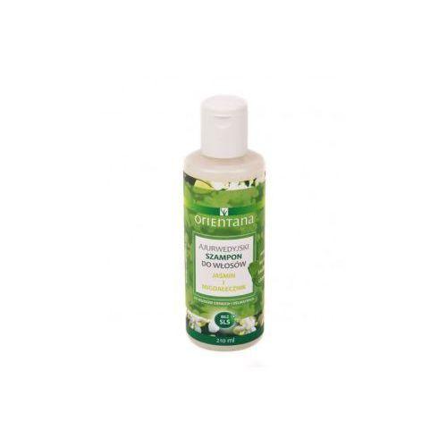 Orientana Ajurwedyjski szampon - jaśmin i migdałecznik (5902596416720)