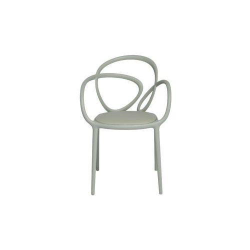 QeeBoo Krzesło Loop z poduszką szare - 2 szt. 30002GY, 30002GY